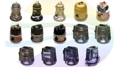 Rainbow Vacuum Models